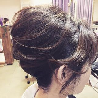 ヘアアレンジ 結婚式 エレガント 成人式 ヘアスタイルや髪型の写真・画像