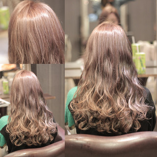 ストリート セミロング ウェットヘア 外国人風 ヘアスタイルや髪型の写真・画像