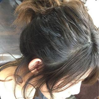 ショート グラデーションカラー ヘアアレンジ 大人女子 ヘアスタイルや髪型の写真・画像