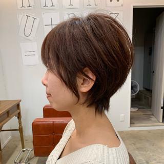 ショートボブ デート 大人かわいい アンニュイほつれヘア ヘアスタイルや髪型の写真・画像