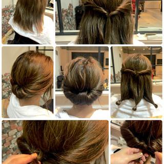 くせ毛風 ヘアアレンジ ショート 大人かわいい ヘアスタイルや髪型の写真・画像