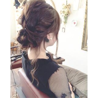 ストリート 結婚式 ゆるふわ グレージュ ヘアスタイルや髪型の写真・画像 ヘアスタイルや髪型の写真・画像