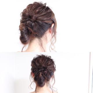 ショート 大人かわいい 簡単ヘアアレンジ ヘアアレンジ ヘアスタイルや髪型の写真・画像 ヘアスタイルや髪型の写真・画像