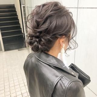 簡単ヘアアレンジ ヘアアレンジ ロング デート ヘアスタイルや髪型の写真・画像 ヘアスタイルや髪型の写真・画像