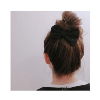ヘアアレンジ ガーリー ハイライト ロング ヘアスタイルや髪型の写真・画像