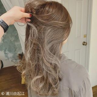 ロング グラデーションカラー モテ髪 エレガント ヘアスタイルや髪型の写真・画像