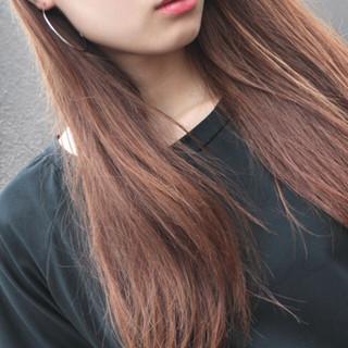 セミロング ベージュ 大人かわいい ナチュラル ヘアスタイルや髪型の写真・画像
