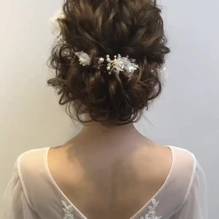 アンニュイほつれヘア セミロング 女子力 ヘアアレンジ ヘアスタイルや髪型の写真・画像
