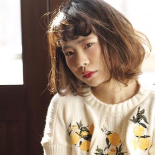 倉嶋沙奈さんのヘアスナップ