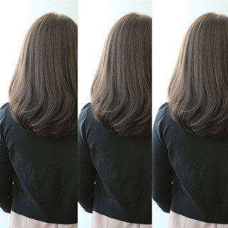 フェミニン 外国人風 グラデーションカラー パーマ ヘアスタイルや髪型の写真・画像