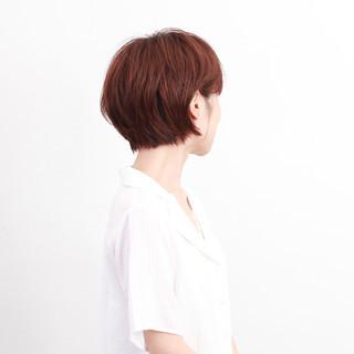 ヘアアレンジ ハンサムショート ショートボブ ショート ヘアスタイルや髪型の写真・画像