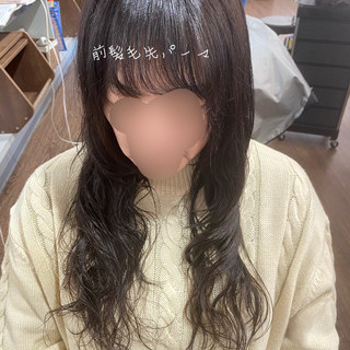 髪質改善トリートメント デジタルパーマ ゆるふわパーマ 髪質改善 ヘアスタイルや髪型の写真・画像
