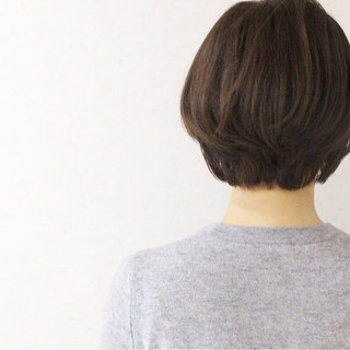 外国人風 ショート アッシュ ボブ ヘアスタイルや髪型の写真・画像