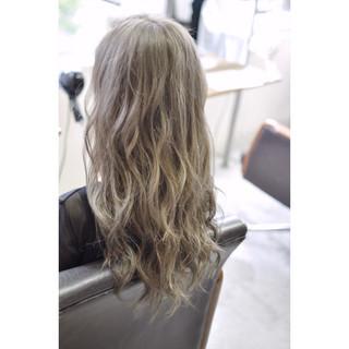 透明感 グラデーションカラー 外国人風カラー バレイヤージュ ヘアスタイルや髪型の写真・画像