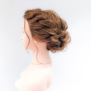 ヘアセット ロング 成人式ヘア アップスタイル ヘアスタイルや髪型の写真・画像 ヘアスタイルや髪型の写真・画像