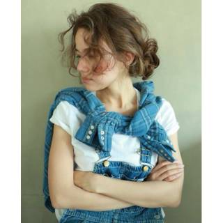 ショート 春 簡単ヘアアレンジ パンク ヘアスタイルや髪型の写真・画像 ヘアスタイルや髪型の写真・画像