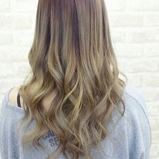 ダブルカラー ストリート 外国人風カラー グラデーションカラー ヘアスタイルや髪型の写真・画像