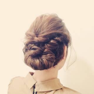 ヘアアレンジ 結婚式 ナチュラル モテ髪 ヘアスタイルや髪型の写真・画像 ヘアスタイルや髪型の写真・画像