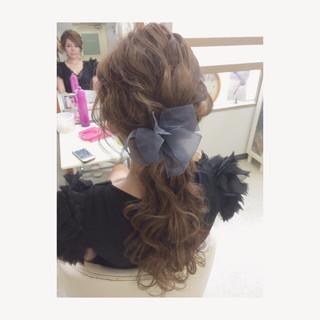 波ウェーブ ゆるふわ フェミニン ウェーブ ヘアスタイルや髪型の写真・画像