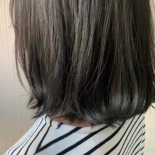 外国人風 アッシュ ナチュラル ブリーチ ヘアスタイルや髪型の写真・画像