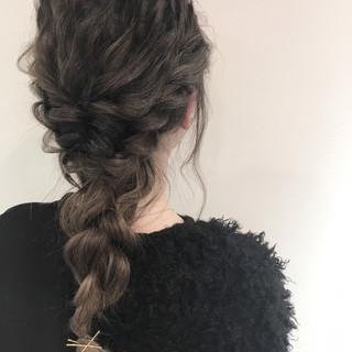 ショート ヘアアレンジ ロング 簡単ヘアアレンジ ヘアスタイルや髪型の写真・画像 ヘアスタイルや髪型の写真・画像