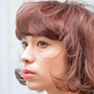 外国人風 ウェーブ モード ナチュラル ヘアスタイルや髪型の写真・画像