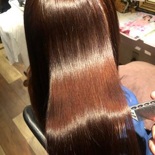 ナチュラル 髪質改善トリートメント 髪質改善 美髪 ヘアスタイルや髪型の写真・画像