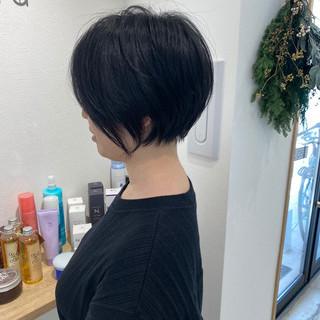 ミニボブ ショートヘア ショート ショートボブ ヘアスタイルや髪型の写真・画像