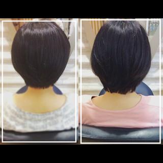 ナチュラル オフィス 大人ヘアスタイル 艶髪 ヘアスタイルや髪型の写真・画像