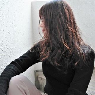 ハイライト ナチュラル ロング 大人女子 ヘアスタイルや髪型の写真・画像
