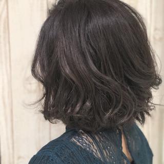 透明感 ラベンダーアッシュ ナチュラル 春 ヘアスタイルや髪型の写真・画像