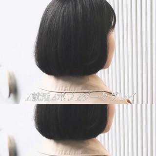 アッシュ ナチュラル ストレート アッシュグレージュ ヘアスタイルや髪型の写真・画像