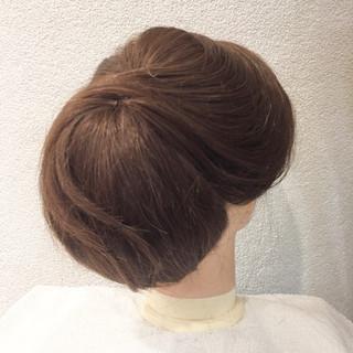結婚式 エレガント 謝恩会 ヘアアレンジ ヘアスタイルや髪型の写真・画像