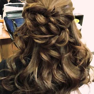大人女子 セミロング 簡単ヘアアレンジ ヘアアレンジ ヘアスタイルや髪型の写真・画像