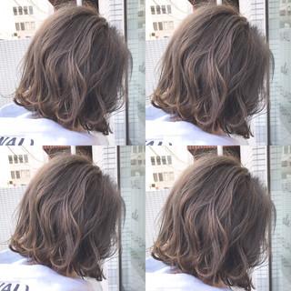 大人女子 ナチュラル 外ハネ 小顔 ヘアスタイルや髪型の写真・画像