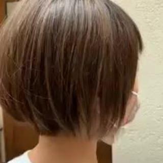 モテ髪 ボブ ショートボブ エレガント ヘアスタイルや髪型の写真・画像