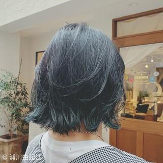 ボブ モテ髪 デート フェミニン ヘアスタイルや髪型の写真・画像