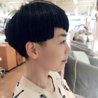 刈り上げ 坊主 モード ショート ヘアスタイルや髪型の写真・画像