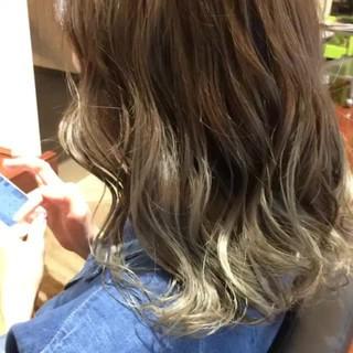 ミディアム 外国人風 渋谷系 ストリート ヘアスタイルや髪型の写真・画像