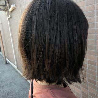 簡単ヘアアレンジ 黒髪 ボブ ヘアアレンジ ヘアスタイルや髪型の写真・画像
