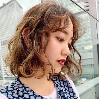 コンサバ 前髪あり 似合わせカット PEEK-A-BOO ヘアスタイルや髪型の写真・画像