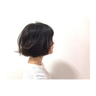 黒髪 ナチュラル 大人かわいい オフィス ヘアスタイルや髪型の写真・画像