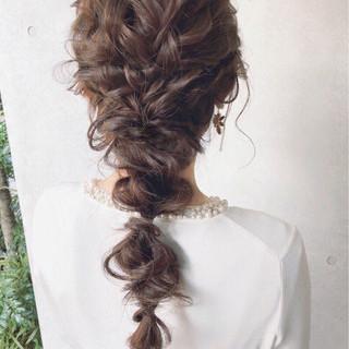 大人女子 ロング パーティ 大人かわいい ヘアスタイルや髪型の写真・画像