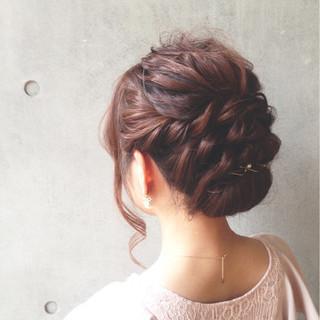 結婚式 女子会 デート ナチュラル ヘアスタイルや髪型の写真・画像