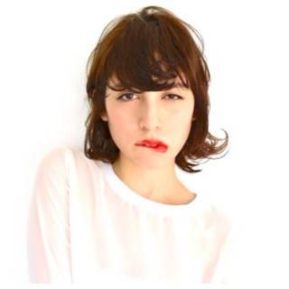 ショート 外国人風 抜け感 ウルフカット ヘアスタイルや髪型の写真・画像