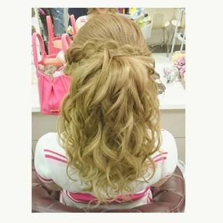 夏 エレガント ロング 色気 ヘアスタイルや髪型の写真・画像