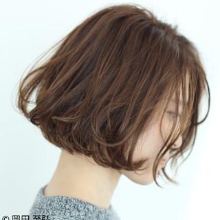簡単 大人女子 ゆるふわ ナチュラル ヘアスタイルや髪型の写真・画像