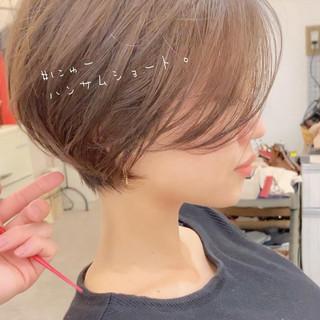 ショート ナチュラル ゆるふわ パーマ ヘアスタイルや髪型の写真・画像 | ショートボブの匠【 山内大成 】『i.hair』 / 『 i. 』 omotesando