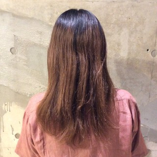 暗髪 大人かわいい ナチュラル 韓国 ヘアスタイルや髪型の写真・画像