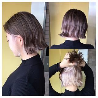 外ハネ インナーカラー ストリート 外国人風 ヘアスタイルや髪型の写真・画像 ヘアスタイルや髪型の写真・画像